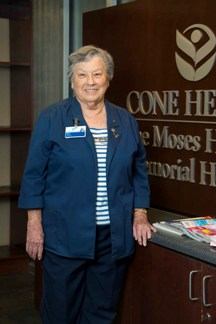 Moses Cone Hospital Volunteer
