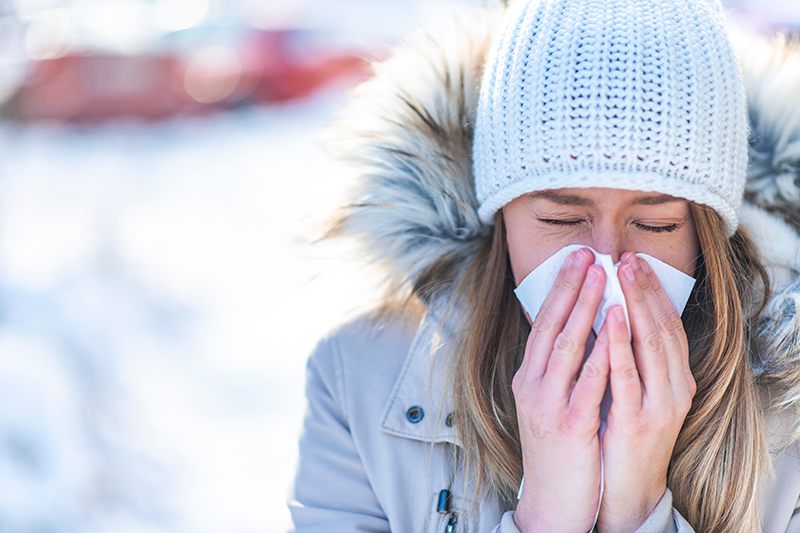 Feeling Sick Over the Holidays? Here's What to Do