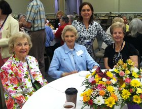 Volunteers Recognized at Luncheon
