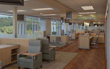 Cancer Center Waiting Area