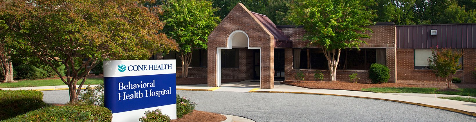 Cone Health Behavioral Health Hospital Greensboro Nc Cone Health