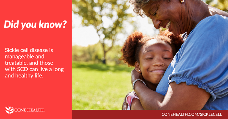 Did you know? Sickle cell disease is manageable and treatable.