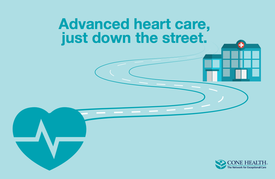 Advanced heart care down the street