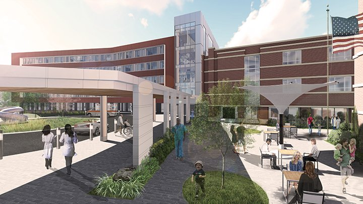 Women's Facility Rendering