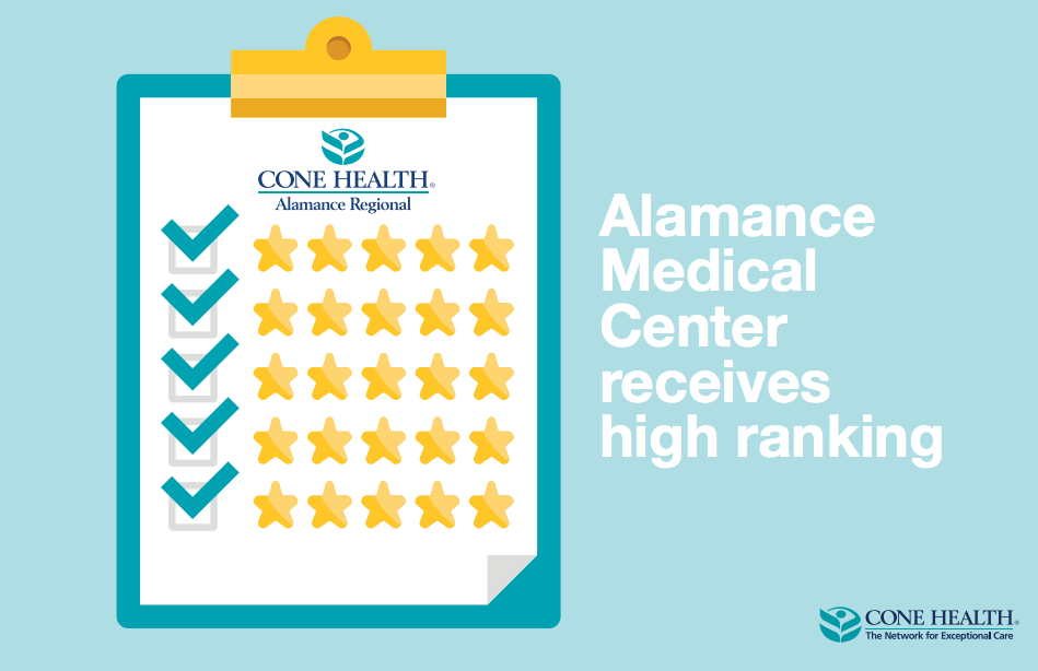 Alamance Regional Medical Center receives high ranking