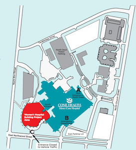 South Entrance Closure