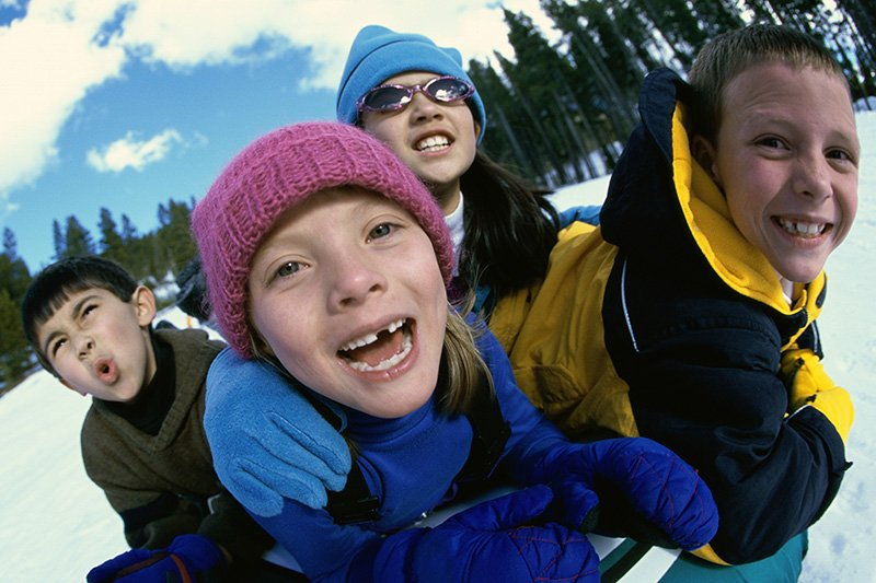 12 Ways to Keep Your Kids Active When It's Cold
