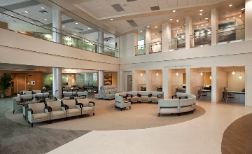 Cone Health Cancer Center Lobby
