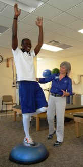 Physical Therapy for Kobe Nyarko