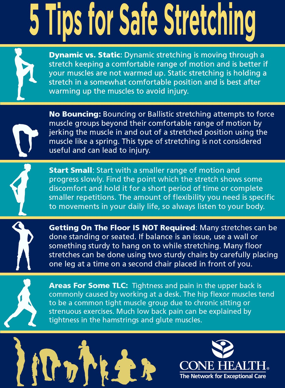 Benefits of Stretching Infographic