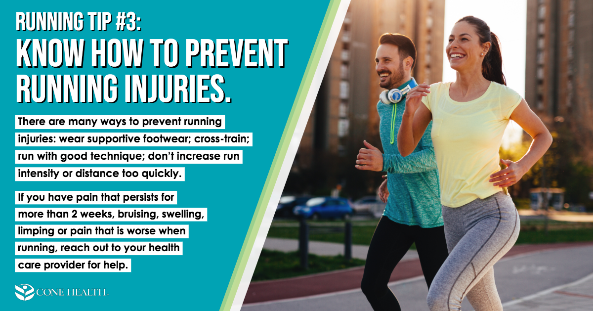 Running Tip 3: Know How to Prevent Running Injuries