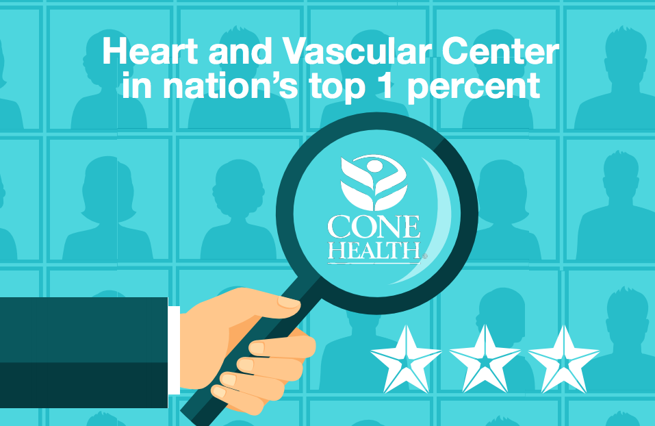 Heart and Vascular Center in nation's top 1 percent