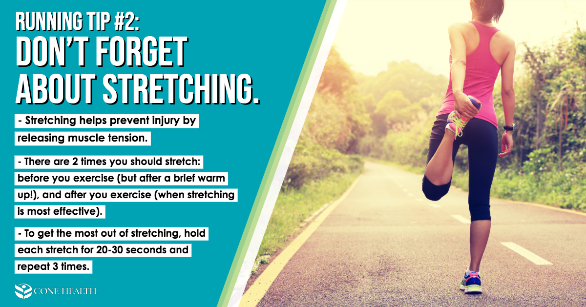 Running Tip 2: Don't Forget About Stretching