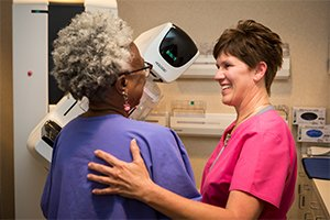 Mammogram at Breast Center of Greensboro Imaging