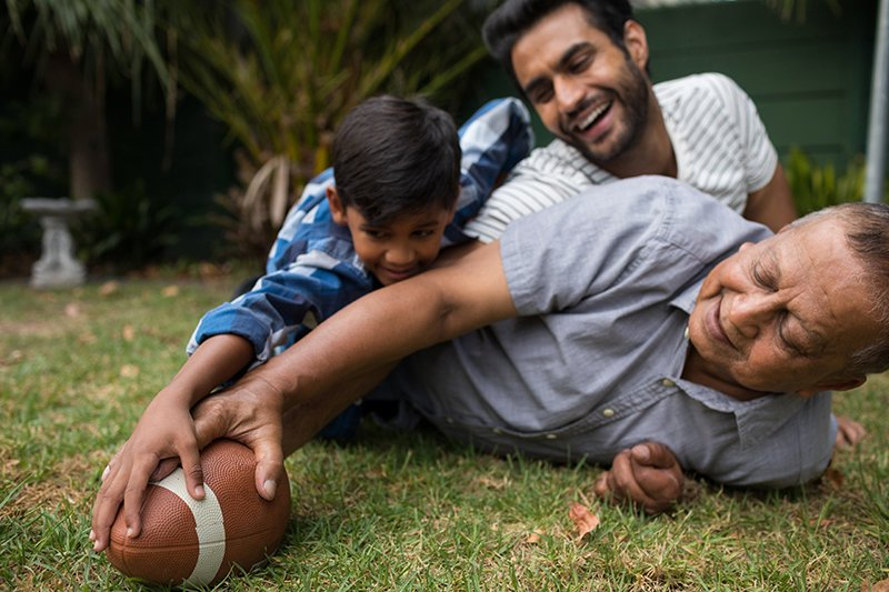 Men's Health: Fatherhood, Low-T and Staying Healthy