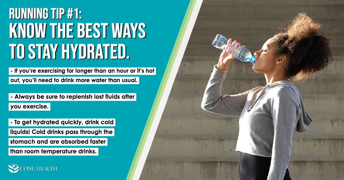 Running Tip 1: Know the Best Ways to Stay Hydrated