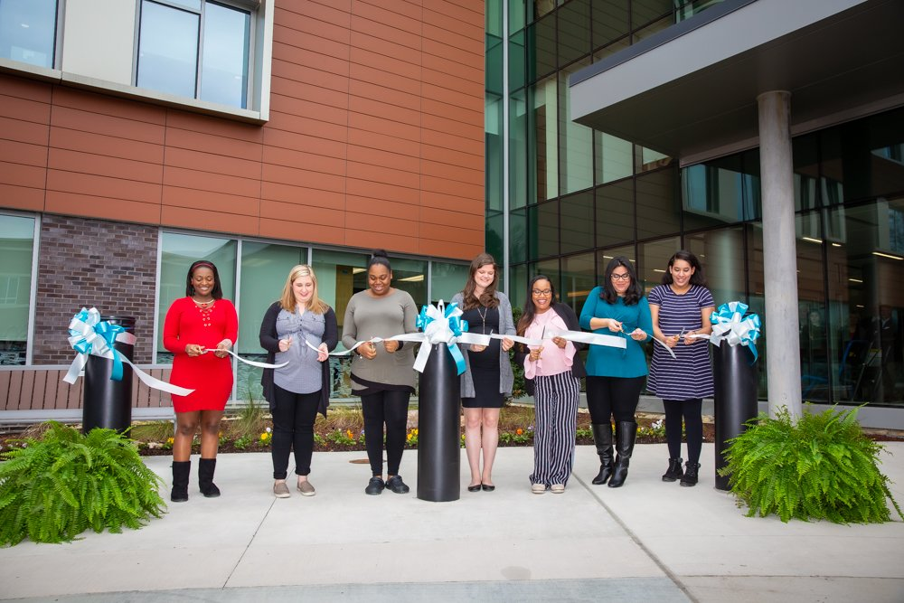 Women's and Children's Center Ribbon Cutting
